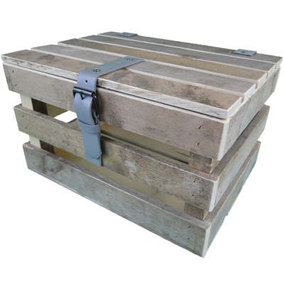 steigerhout krat met deksel