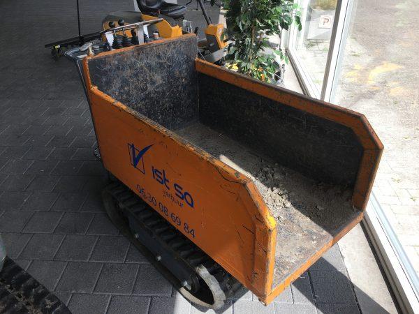 Rupsdumper - compact grondstof transport